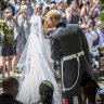 At first, I hated the royal wedding, then the adrenaline kicked in