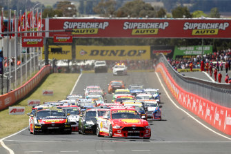The Bathurst 1000 will go ahead this year but with limited crowds at Mount Panorama.