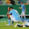 Lyon upset Man City to set up semi-final with Bayern