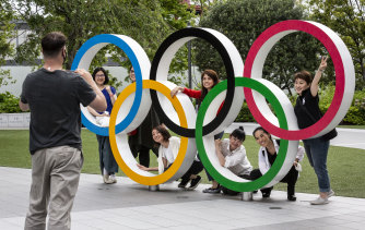 Tokyo prepares for the Olympics.