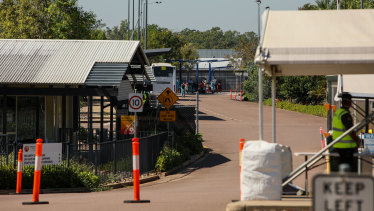 The only purpose-built quarantine facility in Australia so far is the Howard Springs centre in Darwin.