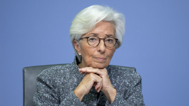 European Central Bank president Christine Lagarde has signalled that the bank will step up pandemic quantitative easing if necessary.