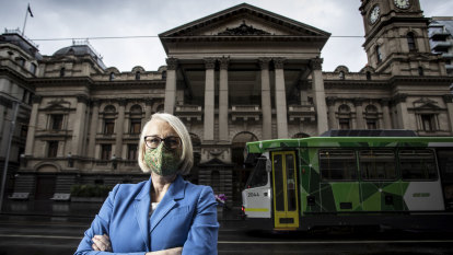 Sally Capp unveils cross-party bid for Melbourne Town Hall