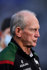 Wayne Bennett has defended resting more than $5m worth of talent in the final round.