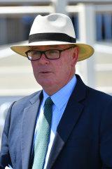 Racing Victoria's integrity boss Jamie Stier.