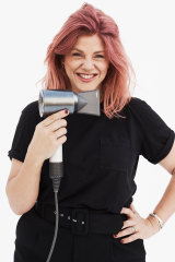 Hair stylist Renya Xydis.