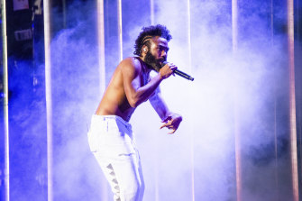 Childish Gambino made it to Australia in July.