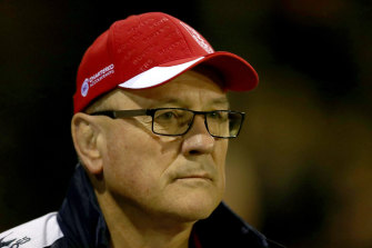 The Knights are interested in adding Tim Sheens to their brains trust.
