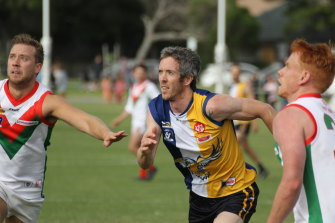 Bob Murphy was a calming influence, creating attacking forays from behind the ball.