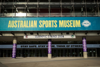 The AFL has not yet finalised its policy on COVID-19 vaccination, which remains the key to reopening sporting venues such as the MCG.