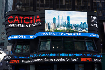 The New York Stock Exchange welcomes Catcha Investment Corp (NYSE: CHAA) on February 12, 2021, in celebration of its SPAC IPO.