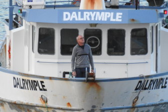 John Tobin, a friend of the D'Agostino brothers and former Sydney Roosters player, was monitored aboard the Dalrymple.