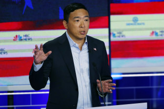 2020 Democratic presidential candidate Andrew Yang proposed a  $1000 a month universal basic income.
