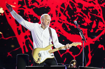 The Who's Pete Townshend.