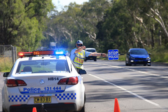 Stationary roadside random breath testing and random drug testing will be cut back in the wake of the virus outbreak.