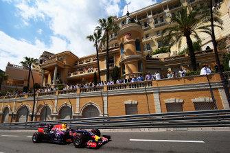 The 2015 Monaco grand prix.