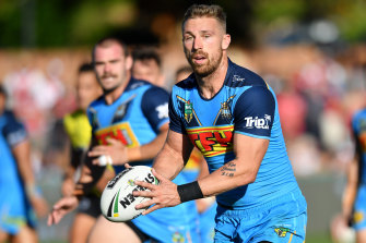 Bryce Cartwright faces the possibility of not being paid if he refuses the flu jab, which the Queensland government says is compulsory for all players in the state.
