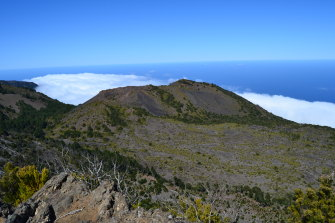 UQ researchers looked at a volcano on the island of El Hierro in the Canary Islands for the project.