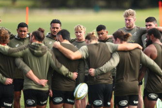 Rennie has been working the Wallabies hard ahead of the Test series opener against France on Wednesday.
