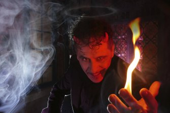 Magician Sam Angelico features in the 2021 Victorian Seniors Festival.