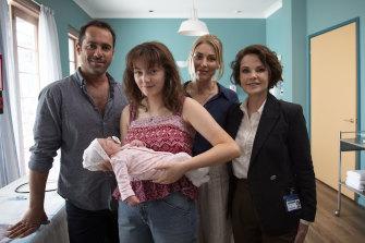 Alex Dimitriades, Alexandra Jensen, Kate Jenkinson and Sigrid Thornton lead the sprawling cast of <i>Amazing Grace</i>.