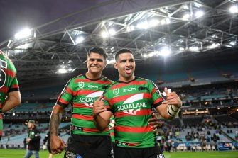 Latrell Mitchell and Cody Walker are leading voices for indigenous issues in the NRL.