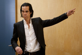 Not even Nick Cave was immune to the finger pointing.