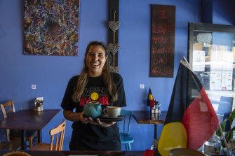Nyoka Hrabinsky's Lillipad cafe makes its point through food.