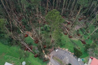 The storms that wrought damage across the state last week have left thousands without power.