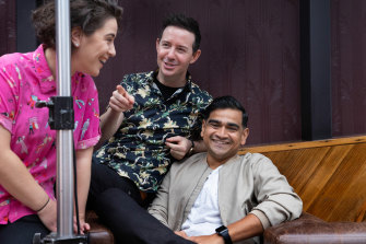 Jude Perl, Nath Valvo and  Dilruk Jayasinha.