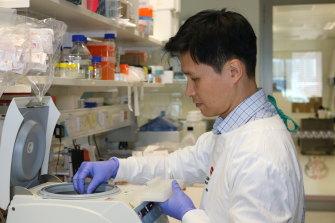 Associate Professor Jason Lee, who heads QIMR Berghofer's epigenetics and disease group.