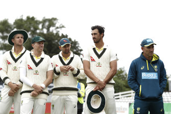 Coach Justin Langer, far right, has contributed to a cultural shift.