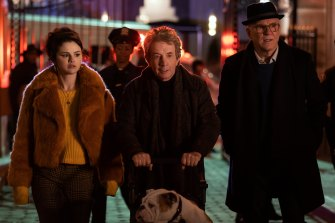 Selena Gomez, Martin Short and Steve Martin share an obsession for crime in the comedic murder-mystery Only Murders in The Building.