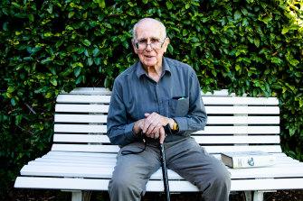 Retired veteran Herald reporter Gavin Souter.