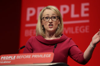 Labour's hard left is touting the party's business spokeswoman Rebecca Long-Bailey as a potential successor to leader Jeremy Corbyn.