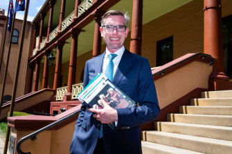 NSW Treasurer Dominic Perrottet will deliver the budget on Tuesday.