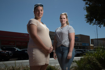 Jordy Mackay and Michela Cartner have had to leave Cobar to give birth in Dubbo, 300 kilometres from home.