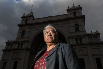Mental health advocate Maggie Toko on Tuesday.