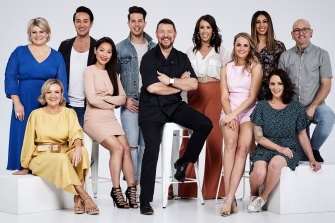 House Manu features 'Faves'; contestants from previous seasons of MKR.