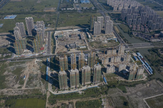 The market is nervous about Evergrande defaulting, given the size of its debts, but so far, the impact has been minimal.
