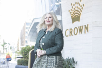 Crown executive chairman Helen Coonan has signalled her intention to depart the casino operator.