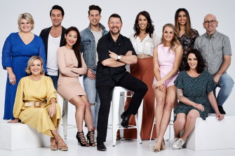House Manu features contestants from previous seasons of MKR.