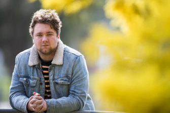 Nathan Gunn, who was in year 12 last year, says the pandemic put a strain on his mental health.