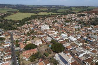 All clear:  Serrana, in Sao Paulo state, Brazil.