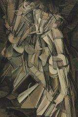 Marcel Duchamp's Nude Descending a Staircase (No 2) 1912.