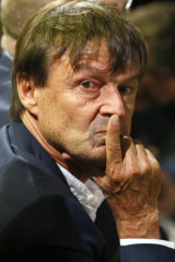"""I don't want to lie to myself any more"": Nicolas Hulot resigned from his ministerial position during a radio interview."