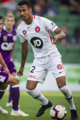 Back in the game: Rashid Mahazi is set to return for the Wanderers after a personal fitness camp.
