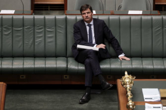 Energy Minister Angus Taylor, who the Greens and Labor are trying to establish an inquiry in to.