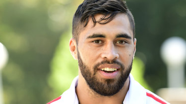 All clear: Jordan Pereira was injured while playing for the Dragons' Canterbury Cup team on Saturday.