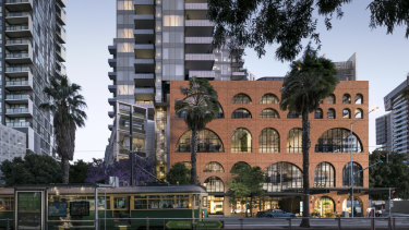 MAB has sold the office space in its Escala building.